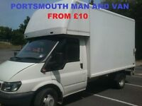 Man And Van Removals Service From £10. Book Now!