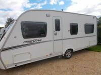 2007 Abbey Freestyle 540 4 Berth Fixed Bed Ex Cond Motor Mover £6,500 further details 07974063489