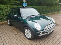 Metallic Green MINI Hatch 1.6 Cooper TWO LADY OWNERS and LOW Mileage