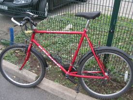 second-hand, efficient Raleigh bicycle