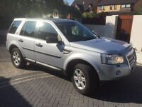 LAND ROVER FREELANDER 2 TD4 GS AUTO **NEW MOT**LEATHER/SAT NAV/SERVICE HISTORY/A/CON/EX COND £4895