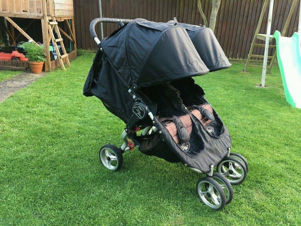 Baby Jogger City Mini Double Pushchair In Gatehouse Of