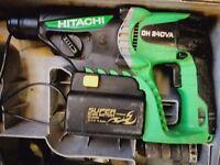 hitachi 24 volt congo drill cordless