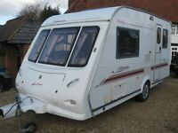elddis 432 2002 2 berth with motor mover