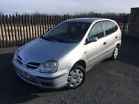 2004 54 NISSAN ALMERA TINO 1.8 S 5 DOOR M.P.V - *MARCH 2018 M.O.T* - IDEAL FAMILY CAR!