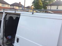 Transit full length roof rack
