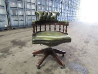 Captains chair chesterfield