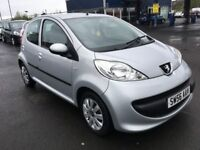 (56) Peugeot 107 1.0 , mot - April 2018 , only 78,000 miles , 2 owners ,aygo,c1,fiesta,corsa,clio