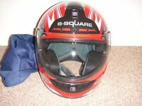 B Square motor bike helmet size small 55 to 56