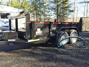 2016 Forest River DUMP TRAILER 68 x 12