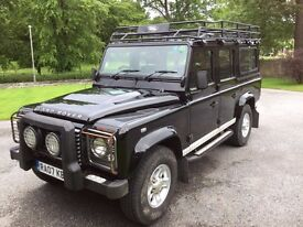 Landrover Defender 110 XS County Station Wagon 2.4 TDCi 7-Seater (2007)