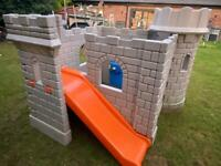 Little Tikes Tykes Playhouse Castle with slide