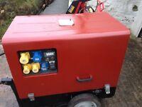 Pramac p6000 6kva diesel super silent generator
