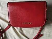 Michael Kors Reese Small Crossbody in Red 100% Authentic