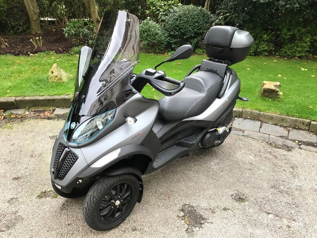 Piaggio MP3 500cc Sport Like New Only 468 Genuine Miles with Extras