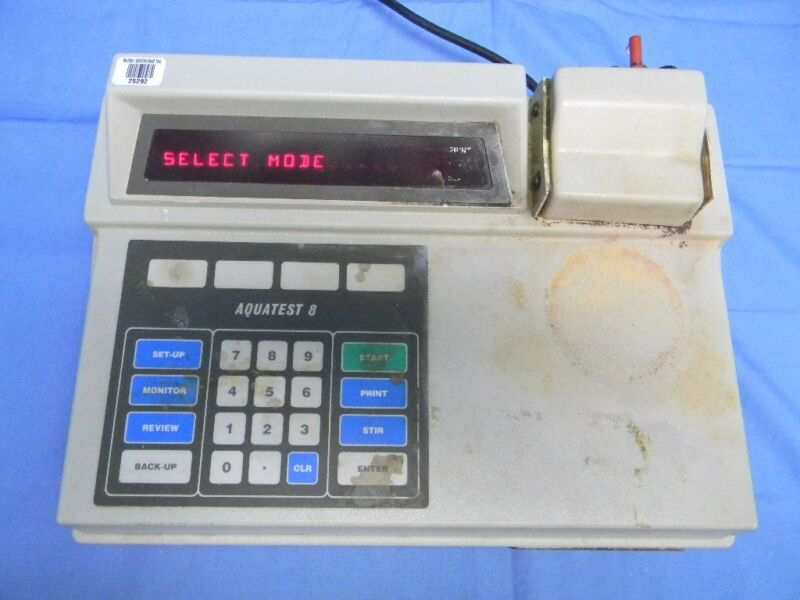 Photovolt Model 128 Aquatest 8 Coulometric Titrator