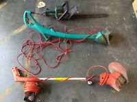 Garden mowers and tools