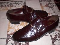 grenson formal classic slip on shoes size 10