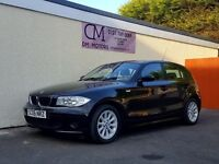 2006 BMW 116I SE BLACK 5 DOOR 92K NATIONWIDE DELIVERY, WARRANTY, MINIMUM £200 PART EX, BARGAIN PRICE