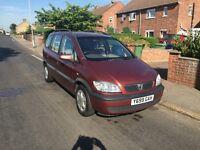 7 Seater Vauxhall Zafira 10 Months MOT **£300 Bargain**
