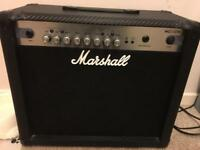 Marshall MG30CFX combo amplifier.