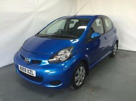 2009 TOYOTA AYGO 1.0 VVT i + 58 2009 £20 TAX ON CAR CHEAP INSURANCE 12 MONTHS MOT 07398146529