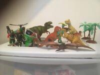 Dinosaurs playset