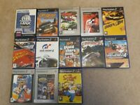 Various PlayStation 2 games