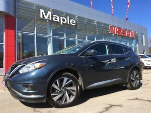 2016 Nissan Murano Platinum Awd--NON-RENTAL,Navi,Leather,Sunroof