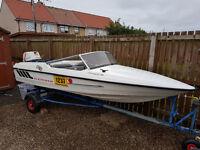 Fletcher ArrowSprint 129 speedboat