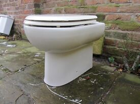 back to wall toilet and seat