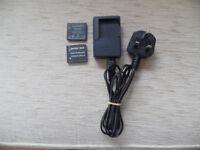 Panasonic Lumix DE-A92A mains battery charger – good condition