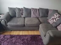 Corner sofa for swap dinning table