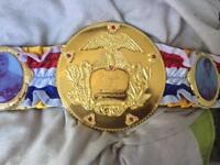 Rocky ring magazine boxing title belt