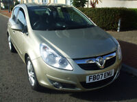 2007 Vauxhall Corsa Design 1.4 Petrol Small Engine Family Hatchback Only 77k New Service New Mot