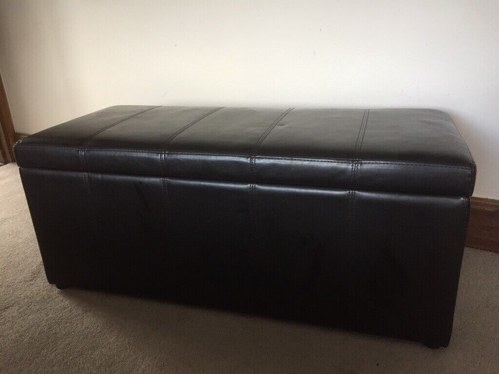 Marvelous Faux Leather Ottoman In Ruabon Wrexham Gumtree Pdpeps Interior Chair Design Pdpepsorg
