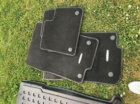 Mercedes Benz boot liner and car mats