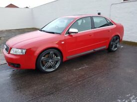Audi S4.. Only 80000 miles