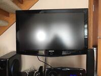 Samsung surround system & 40 inch HD TV