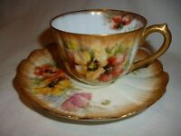 Limoges small cup and saucer