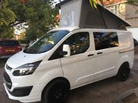 FORD TRANSIT CUSTOM POP TOP CAMPER VW T5 MOTORHOME