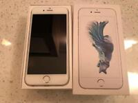 IPhone 6s 16gb silver (unlocked) great condition