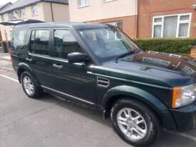 Land Rover Discovery 3 2.7 desil 2009 reg 89000 miles