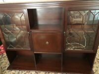 Free Mahogany Dressers and TV/DVD Unit