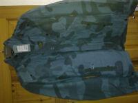 blue g star jacket