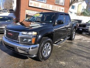 2011 GMC Canyon SLE Crew Cab, 4x4, Only 130000kms!