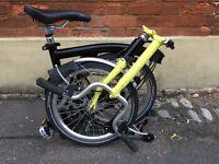 Brompton m2r folding bike bicycle