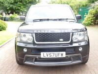LAND ROVER RANGE ROVER SPORT 3.6 TDV8 SPORT HSE 5d AUTO 269 BHP UPGRAGE BODYKIT FULL SERVICE HISTORY
