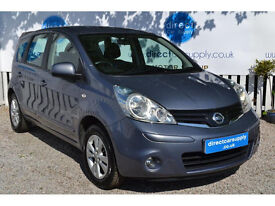 NISSAN NOTE Can't get car finance? Bad credit, unemployed? We can help!