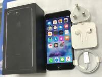 Apple iPhone 7 Plus jeck Black-128GB Unlocked to any network